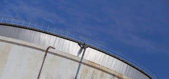 Construção industrial do central elétrica Fotos de Stock Royalty Free