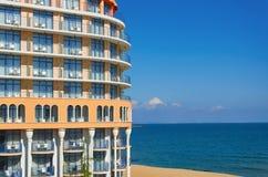 Construção na costa Imagens de Stock Royalty Free
