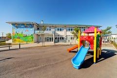 Construção pré-escolar Foto de Stock