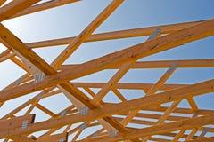 Construção residencial Imagem de Stock Royalty Free