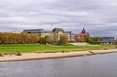 Construção saxona da chancelaria do estado - Dresden, Alemanha Fotografia de Stock