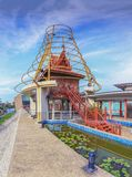 Construção tailandesa tradicional Imagem de Stock Royalty Free