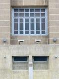 construção velha bonita dianteira do Europeu-estilo Foto de Stock Royalty Free