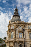 Construção velha do governo na Espanha de Cartagena Fotos de Stock