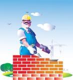 Construtor ilustração stock