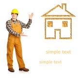 Construtor Imagens de Stock Royalty Free