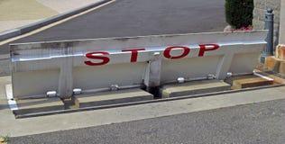 Construtor da estrada perto de Washington State Capitol em Washington D C , 2008 Fotografia de Stock Royalty Free