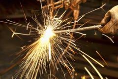 Construtor do metal Imagem de Stock Royalty Free