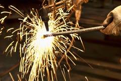 Construtor do metal Fotografia de Stock