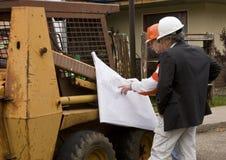 Construtor e arquiteto Foto de Stock
