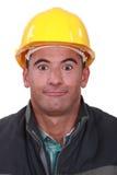 Construtor estúpido Imagem de Stock