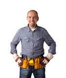 Construtor feliz Imagens de Stock Royalty Free
