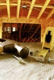 Construtor Home foto de stock royalty free