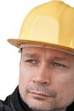 Construtor isolado da face imagens de stock royalty free