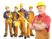 Construtores imagem de stock royalty free