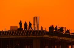 Construtores fotografia de stock royalty free