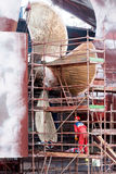 Construtores de navios dos trabalhos Fotos de Stock