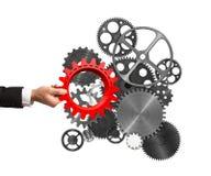 Construya un sistema empresarial imagen de archivo