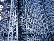Constuction site of automated storehouse Royalty Free Stock Photos