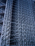 Constuction site of automated storehouse Royalty Free Stock Images