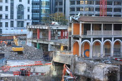 Constuction site Royalty Free Stock Image