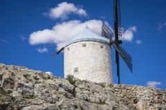 consuegra, μύλοι μυθική Καστίλλη δημητριακών στην Ισπανία, φορά Δον Κιχώτης, στοκ φωτογραφία με δικαίωμα ελεύθερης χρήσης