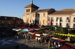Consuegra. La Spagna Fotografie Stock Libere da Diritti