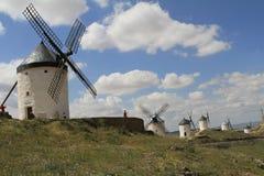 Consuegra, Spagna Fotografie Stock