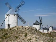 Consuegra Spain windmills Stock Photos