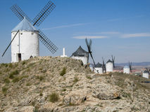 Consuegra Spain windmills Royalty Free Stock Photo