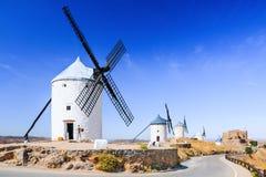 Consuegra Spanien Arkivbilder