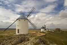 Consuegra Windmill 01 Arkivbilder
