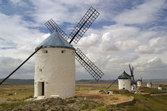 Consuegra Windmill 02 Stock Image