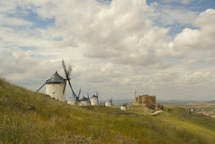 Consuegra Windmill Stock Image