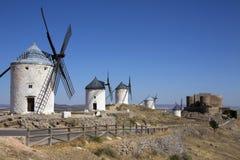 Consuegra Windmills - La Mancha - Spain Royalty Free Stock Photography