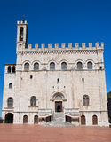 Consul Palace. Gubbio. Umbria. Stock Photos