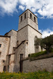 Consul Palace in the historic center of Gubbio Royalty Free Stock Images