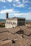 Consul Palace in the historic center of Gubbio Royalty Free Stock Photography
