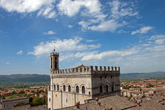 Consul Palace in the historic center of Gubbio Stock Photography