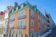 Consulaat-generaal de Stad van van de V.S., Quebec, Canada royalty-vrije stock foto's