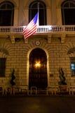 Consulaat-generaal van de V.S. in Florence stock foto