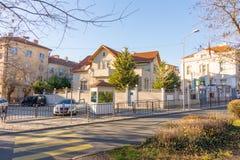 Consulaat-generaal van Turkije in Bulgaarse Burgas Royalty-vrije Stock Afbeeldingen