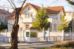 Consulaat-generaal van Turkije in Burgas, Bulgarije Royalty-vrije Stock Fotografie
