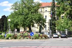 Consulaat van de Russische Federatie in München royalty-vrije stock fotografie