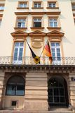 Consulaat van Duitsland stock fotografie