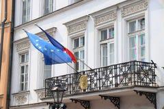 Consulaat van Frankrijk royalty-vrije stock afbeeldingen
