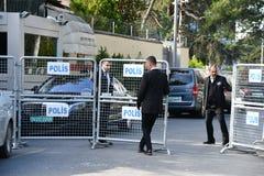 Consulado de Arábia Saudita em Istambul foto de stock royalty free