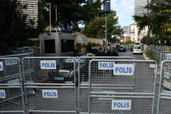Consulado de Arábia Saudita em Istambul fotografia de stock