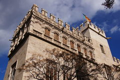 Consulado Del Mar De Valence H de Lonja y Images libres de droits