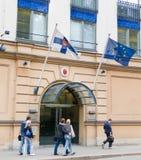 Consulado general de Finlandia, St Petersburg Foto de archivo